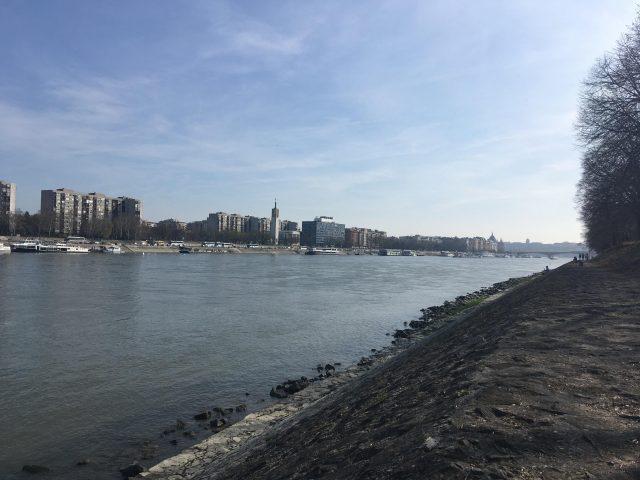 Margit sziget csendes partja